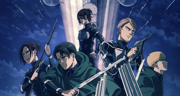 1 Anime estrenos invierno - Shingeki No Kyojin The Final Season