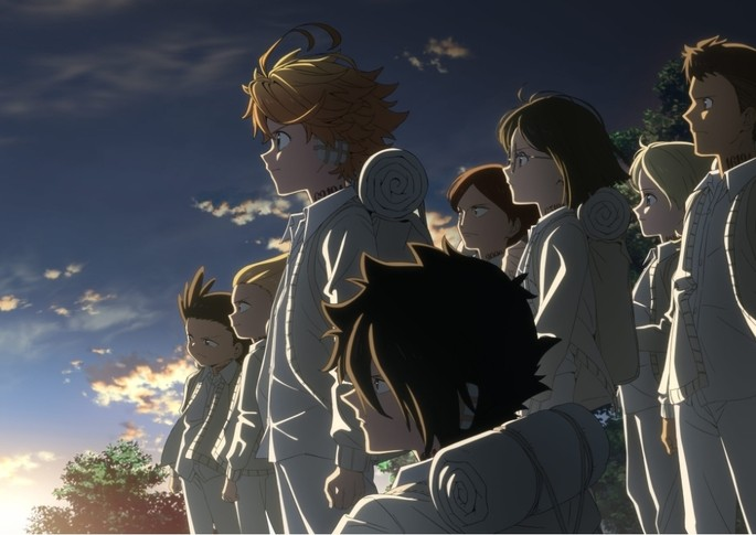 1 Anime estrenos invierno - Yakusoku no Neverland 2nd Season