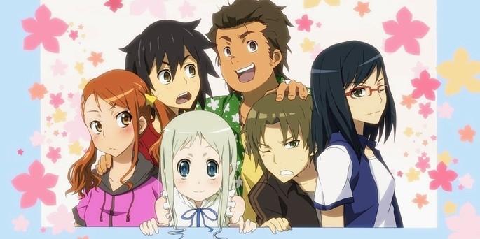 Anohana Anime Netflix