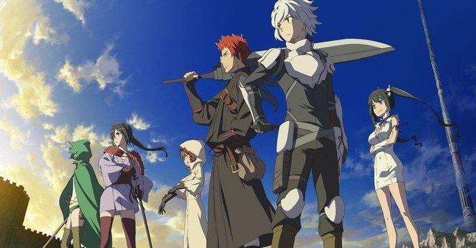 1 Dungeon ni Deai wo Motomeru no wa Machigatteiru Darou ka III Danmachi - Estrenos anime otoño
