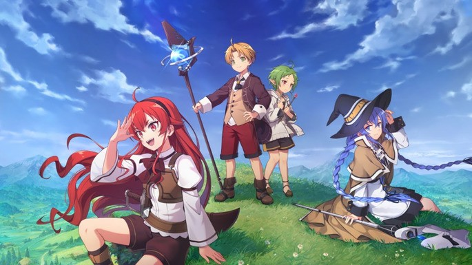 1 - Estrenos anime otoño - Mushoku Tensei Isekai Ittara Honki Dasu 2nd Season