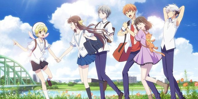 1 - Los mejores anime de romance - Fruits Basket