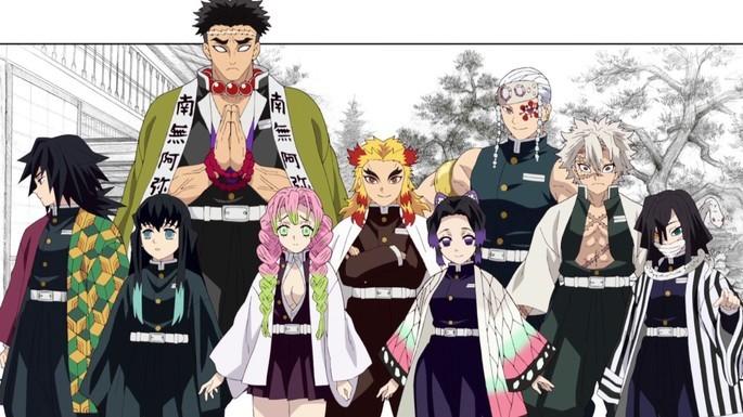 1 - Kimetsu No Yaiba - Hashira - Los pilares actuales