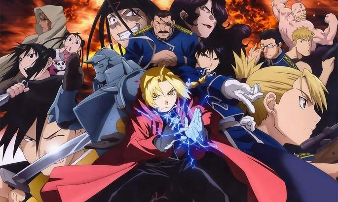 1 - Mejores anime de la historia - FullMetal Alchemist Brotherhood