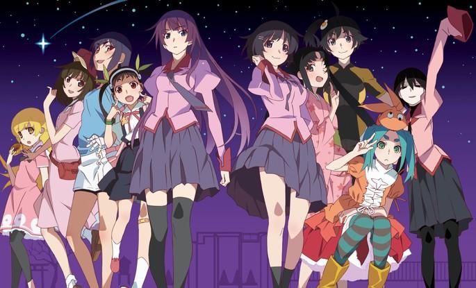 1 - Orden de la serie Monogatari