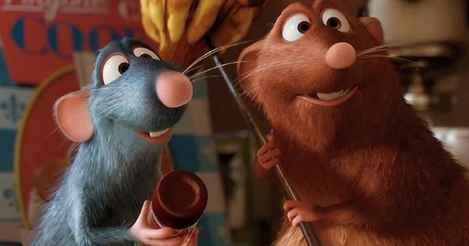 1 - Películas de Pixar - Ratatouille
