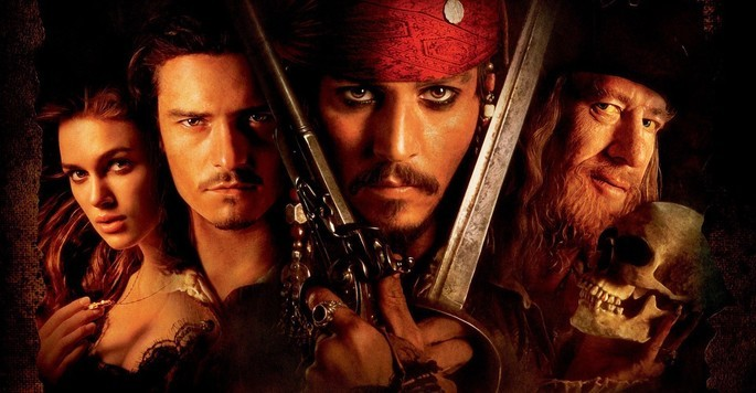 1 - Piratas del caribe la maldición del perla negra