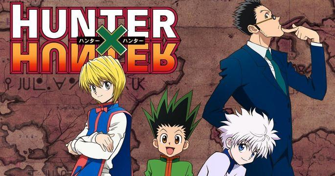 10 - Animes interesantes - Hunter x Hunter