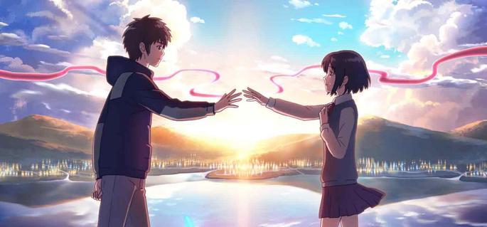 10 - Mejores anime de la historia - Kimi No Na Wa