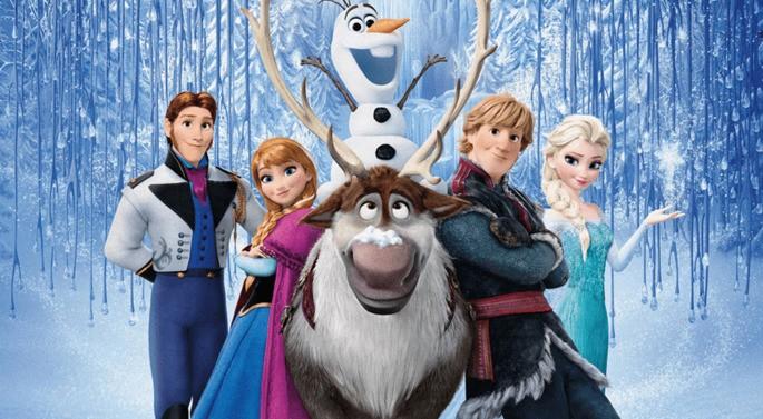 10 Mejores Peliculas Disney - Frozen