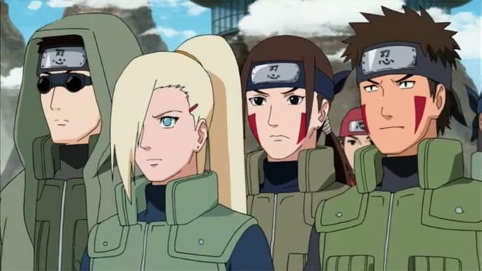 Naruto episodios relleno