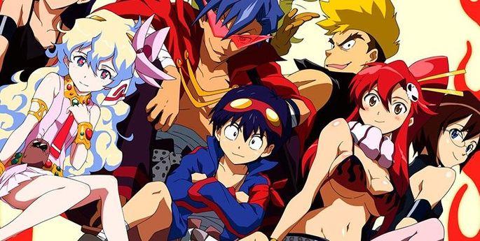 10 Tengen Toppa Gurren Lagann Anime Netflix