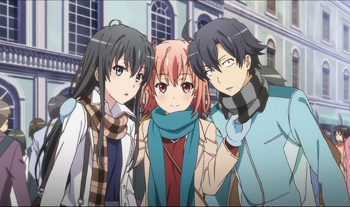 10 Yahari Ore no Seishun Love Comedy wa Machigatteiru Kan Estrenos Anime Julio