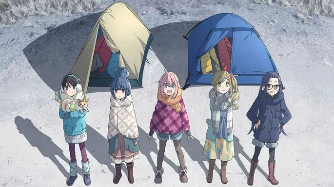 11 Anime estrenos invierno - Yuru Camp△ Season 2