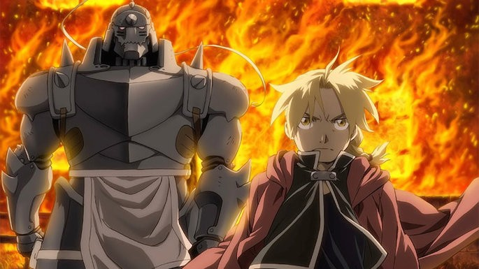 11 Animes de accion - Full Metal Alchemist Brotherhood