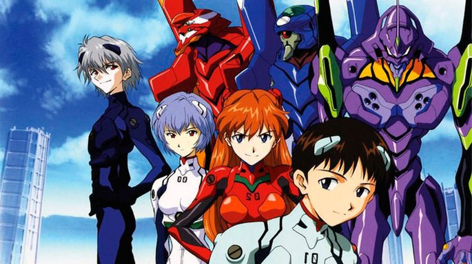11 - Mejores anime de la historia - Neon Genesis Evangelion