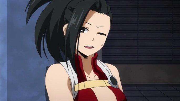 11 Momo Yaoyorozu Boku No Hero Academia Personajes