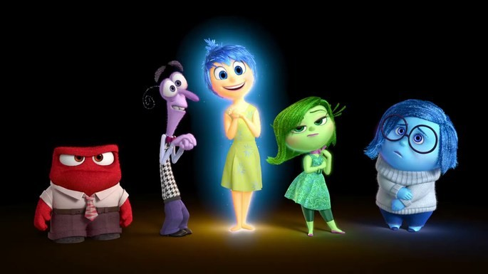 11 Peliculas animadas - Inside Out