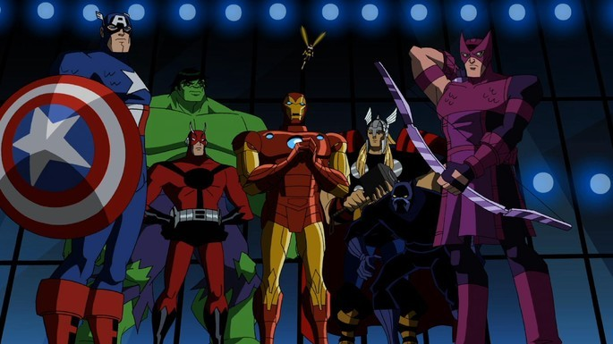11 - The Avengers Earth's Mightiest Heroes