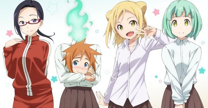 12 Anime vampiros - Demi-chan wa Kataritai