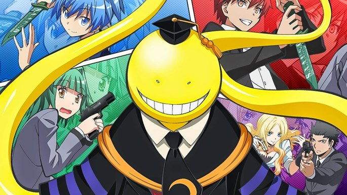 12 Animes de accion - Assassination Classroom