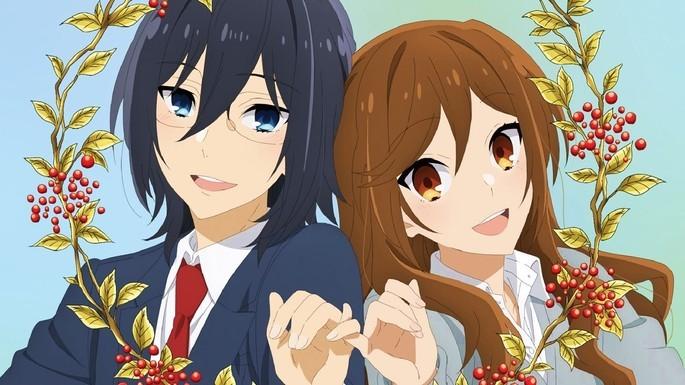 12- Los mejores anime de romance - Horimiya