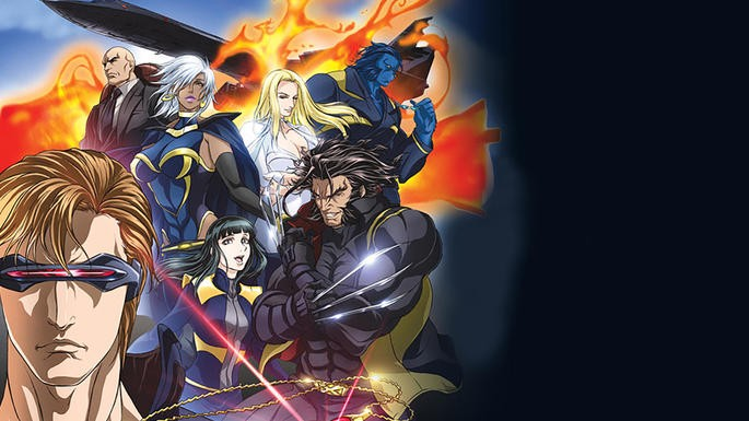 12 - Marvel Anime X-Men