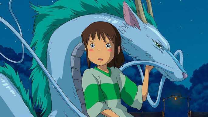 12 - Mejores anime de la historia - El viaje de Chihiro