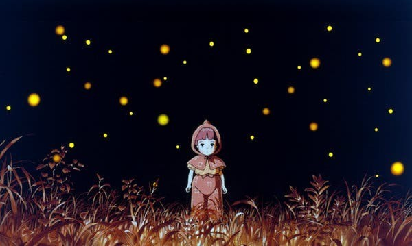 12 Peliculas animadas - Grave of the Fireflies