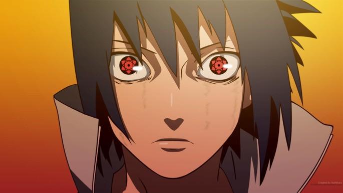 12 Sasuke Mangehyou Sharingan