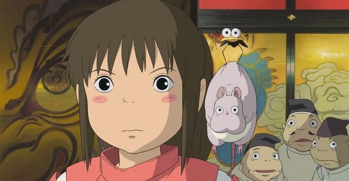13 Peliculas animadas - El viaje de Chihiro