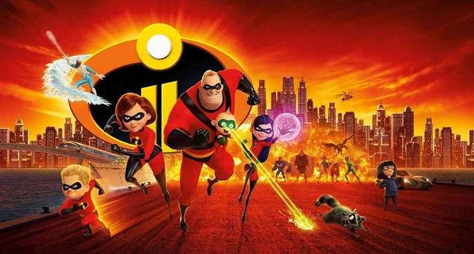 13 - Películas de Pixar - Los Increíbles 2