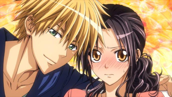 14- Los mejores anime de romance - Kaichō wa Maid-sama!
