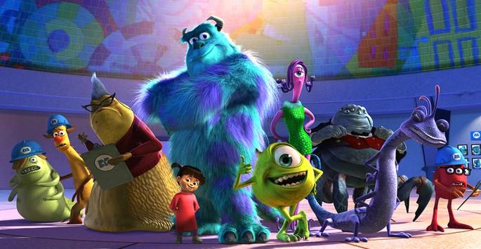 14 - Películas de Pixar - Monsters, Inc.