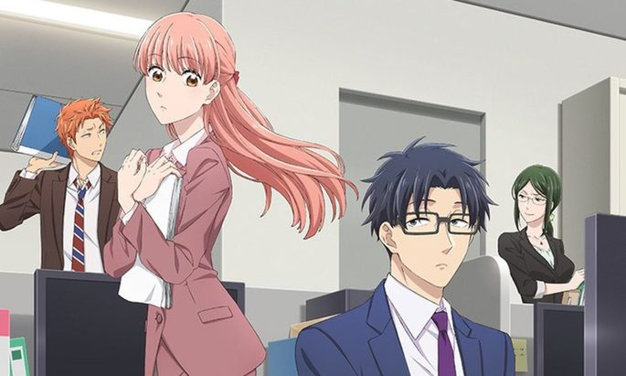 15- Los mejores anime de romance - Wotaku Ni Koi Wa Muzukashi