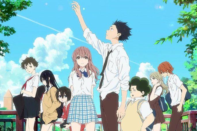 15 - Mejores anime de la historia - Koe No Katachi