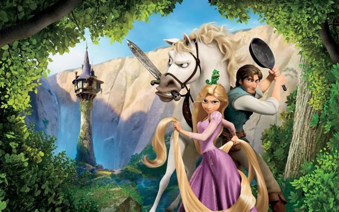 15 Mejores Peliculas Disney - Enredados