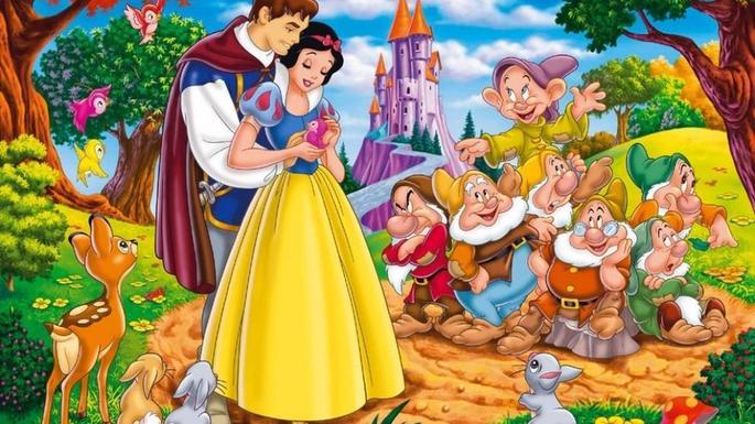 15 Peliculas animadas - Blancanieves y los siete enanos