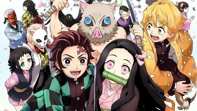 16 Animes de accion - Kimetsu No Yaiba