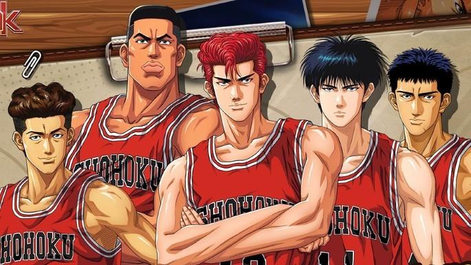 16 - Mejores anime de la historia - Slam Dunk