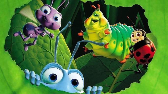 16 - Películas de Pixar - Bichos Una aventura en miniatura