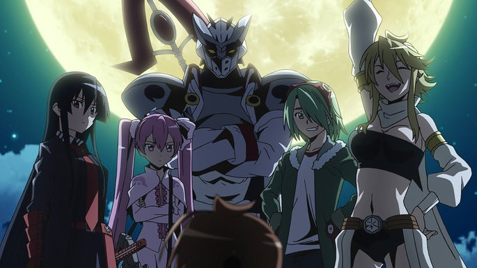 17 Animes de accion - Akame Ga Kill