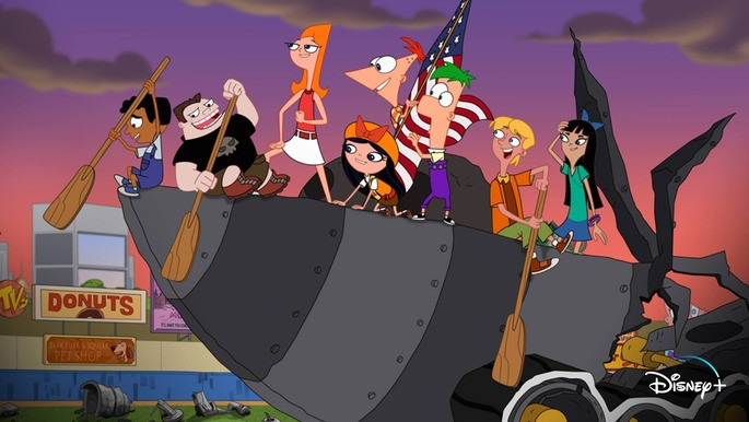 17 - Películas infantiles - Phineas and Ferb the Movie Candace Against the Universe