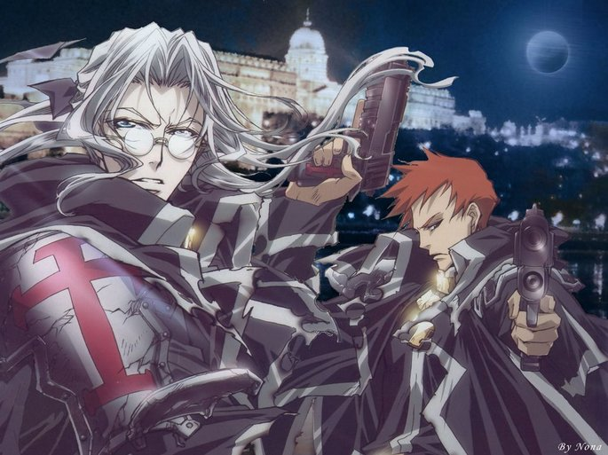 18 Anime vampiros - Trinity Blood