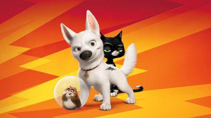 18 Mejores Peliculas Disney - Bolt Un Perro fuera de serie