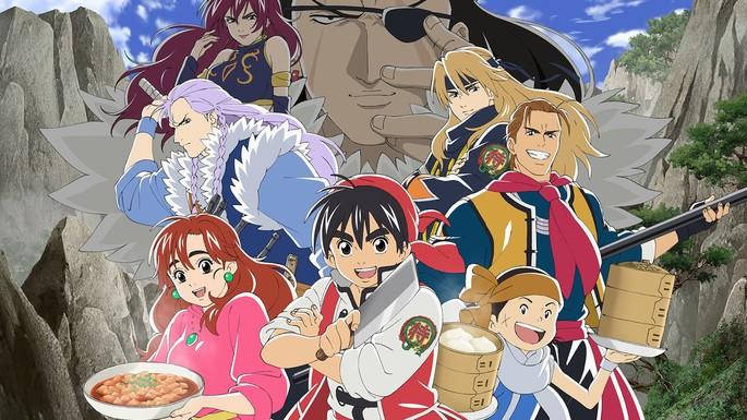19 Anime estrenos invierno - Shin Chuuka Ichiban! 2nd Season