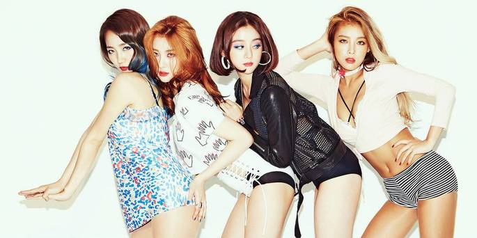 19- Grupos Kpop - Wonder Girls