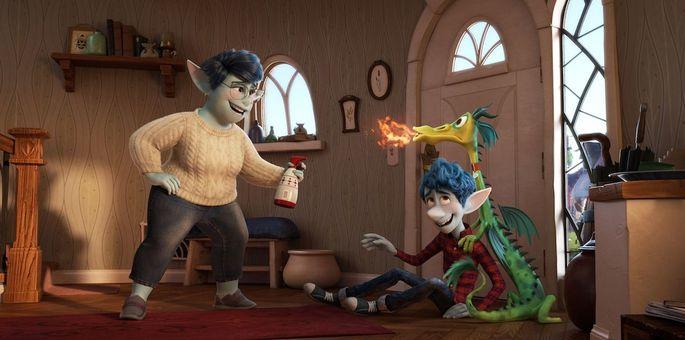 19 - Películas de Pixar - Onward