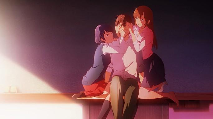 2 - Animes ecchi - Domestic na Kanojo