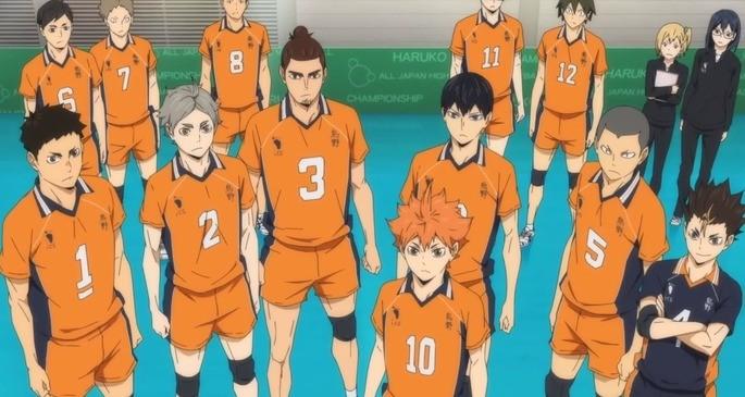 2 Estrenos anime otoño - Haikyuu To the top 2nd season